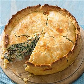 Pizza pie recipe. This is based on a homely Italian dish sometimes known as pizza rustica. The following version is meat-free but die-hard carnivores could add diced bacon or ham. This pie is as good cold as it is hot, so any leftovers are good news.