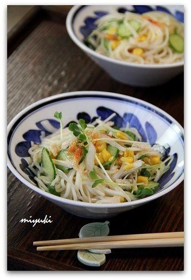 ピリ辛そうめんサラダ by miyukiさん | レシピブログ - 料理ブログの ...