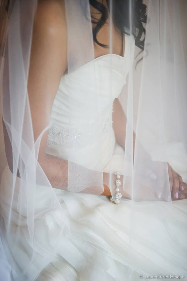 Veil and nails