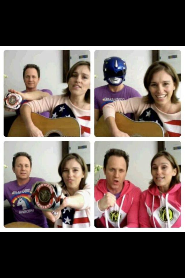 Amy Joe Johnson and David Yost