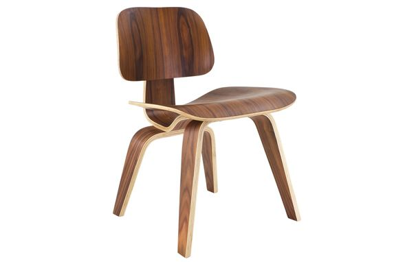 Eames Style Plywood DCW Dining Chair, by Charles and Ray Eames. No epicurean delight should be enjoyed on any other dining chair. The Eames DCW Plywood Dining Chair is a beautifully fluid design in moulded plywood. The chair has such a vibrant feel that you'd expect it to join in the dinner conversation, not just be the subject of high praise from guests. The ergonomic comfort prevalent throughout the range is emphasised by the organic tone.