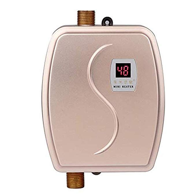 3 Seconds Instant Heating 3 Second Instand Heating Saving Much Of Your Time When Using It Lcd Digit Water Heater Tankless Hot Water Heater Hot Water Heater