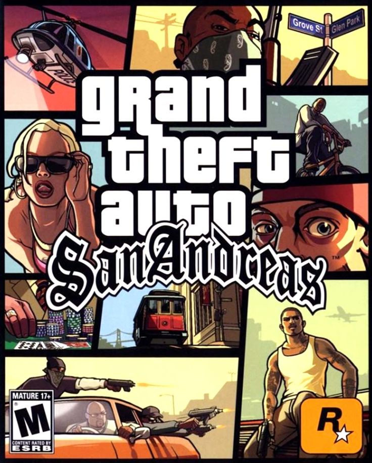 grand theft san andreas auto  software