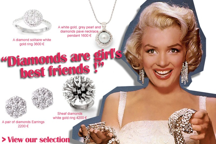 Jewels are a girl best's friend