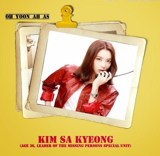 Oh yoon ah sebagai Kim sa Kyeong