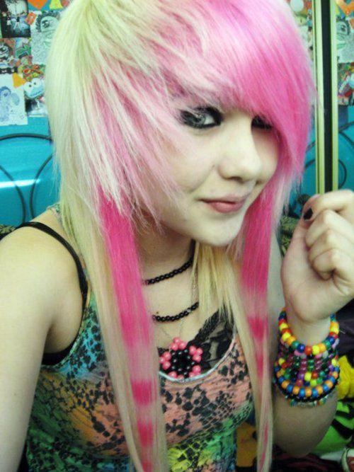 Want my bangs like this : Scene Hair