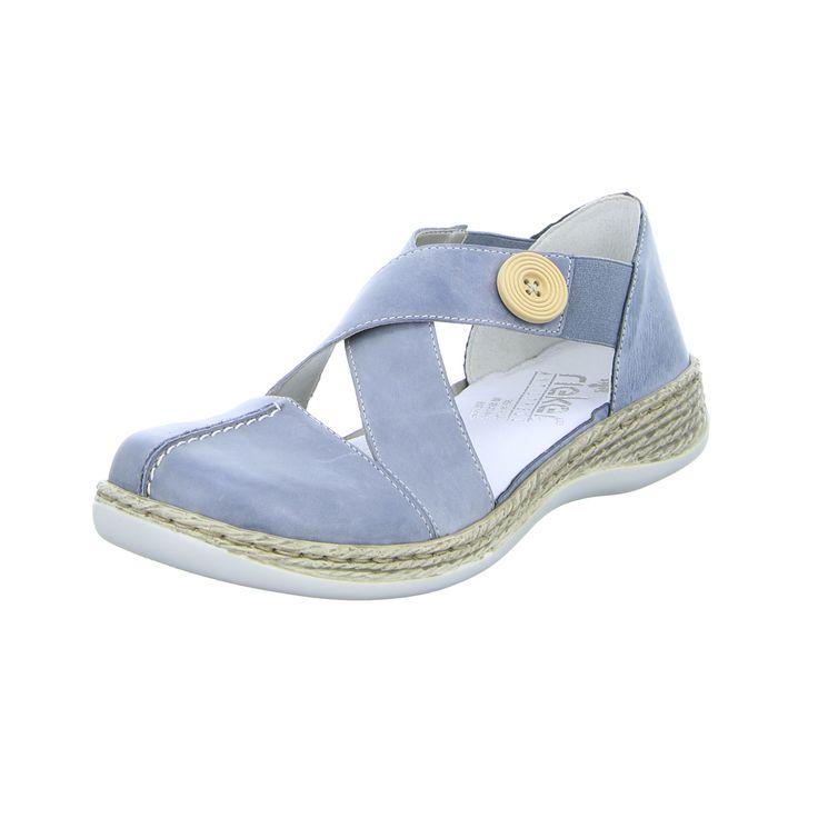 Rieker Sandale 49,95€ -https://www.schuh-mann.de/Damenschuhe/Sandalen/Damen-Sandale-46441-12.html - Die Schweizer Marke Rieker ist ein absoluter Garant für Qualität und perfekt für Urlaubsspaziergänge.