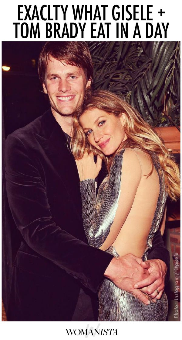 Tom Brady and Gisele share exactly what they eat in a day, to stay fit and healthy all year long. Womanista.com