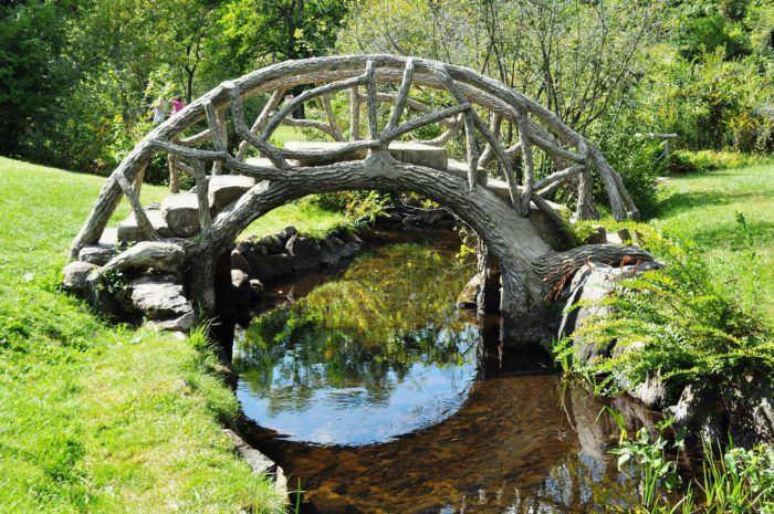 McCourtie's property features a series of beautiful bridges: 17, to be exact…