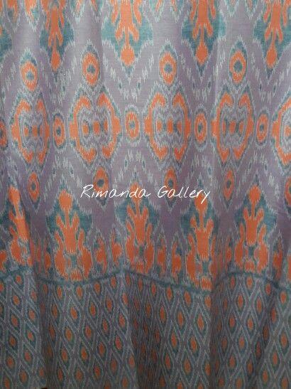 Batik printing motif tenun ikat  Check ig @rimanda_gallery