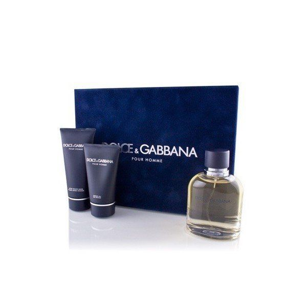 DOLCE AND GABBANA CLASSIC MENS GIFT SET 3 PIECE