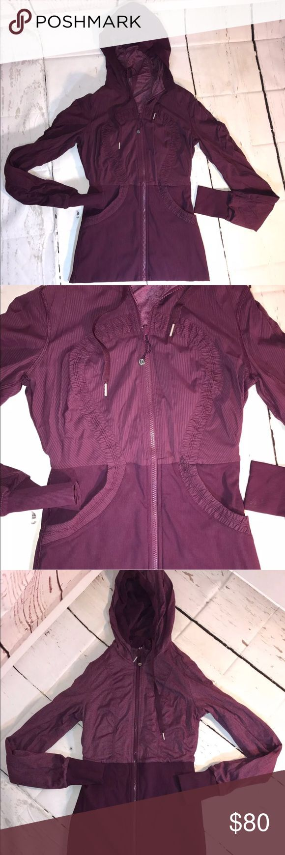 Lululemon Dance studio jacket reversible size 8 Lululemon dance studio jacket  size 8 Reversible I bought this online, but it's too small for me  Excellent condition! lululemon athletica Jackets & Coats