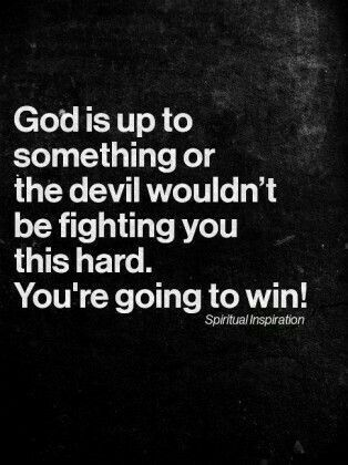 I will win! God's word guarantees He will have the victory and the collateral damage will be damned