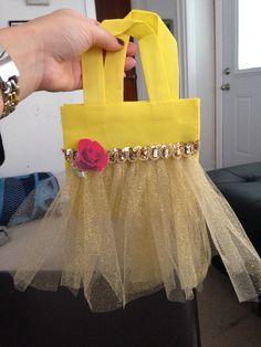 Belle AKA beauty and the beast tutu goody bag