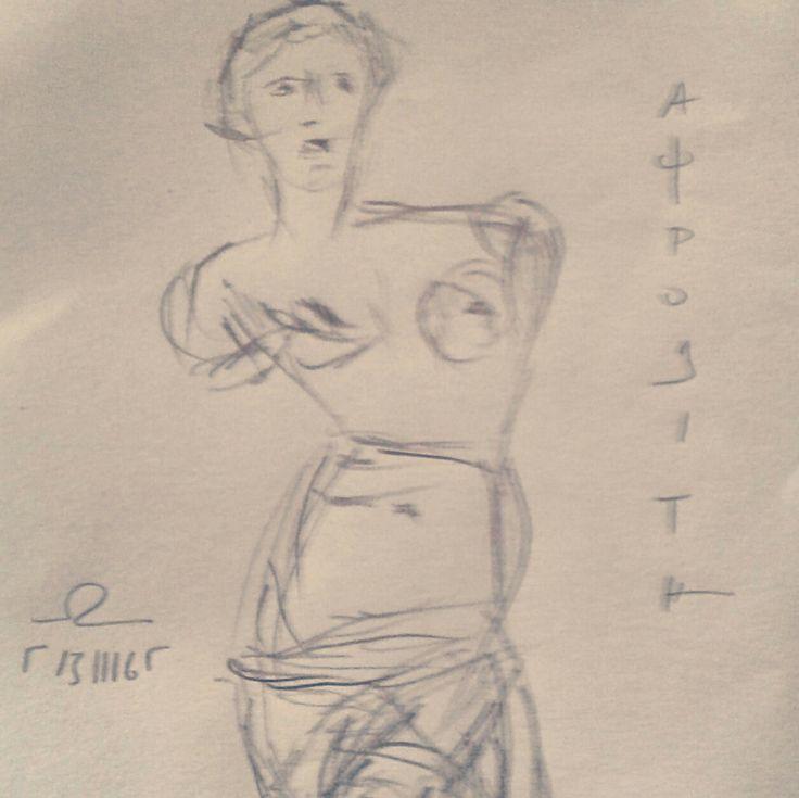 Aphrodite, by Yorgos ΖΗΤΩ (2016)
