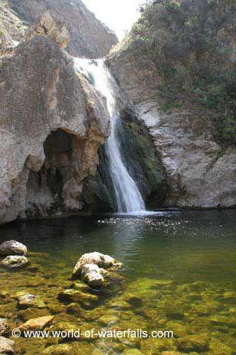 Paradise Falls (Wildwood Falls) in Thousand Oaks