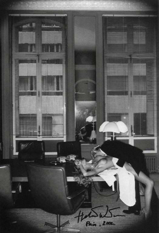 Helmut Newton, Office Love, Paris, 1976  Helmut Newton -1082