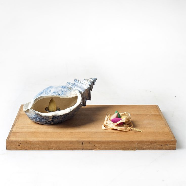 "• Orenda •  .  Pottery Mass Production Project  Ceramic Incense Burner  —————  Inspired by ""Legenda Keong Mas"".  .  Incense Burner itself means a vessel for holding burning incense. [1/3]"