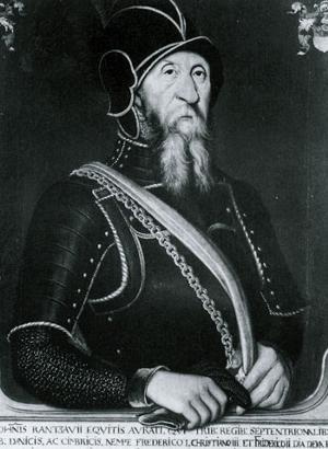 Christian 3's fieldmarshall Johan Rantzau.