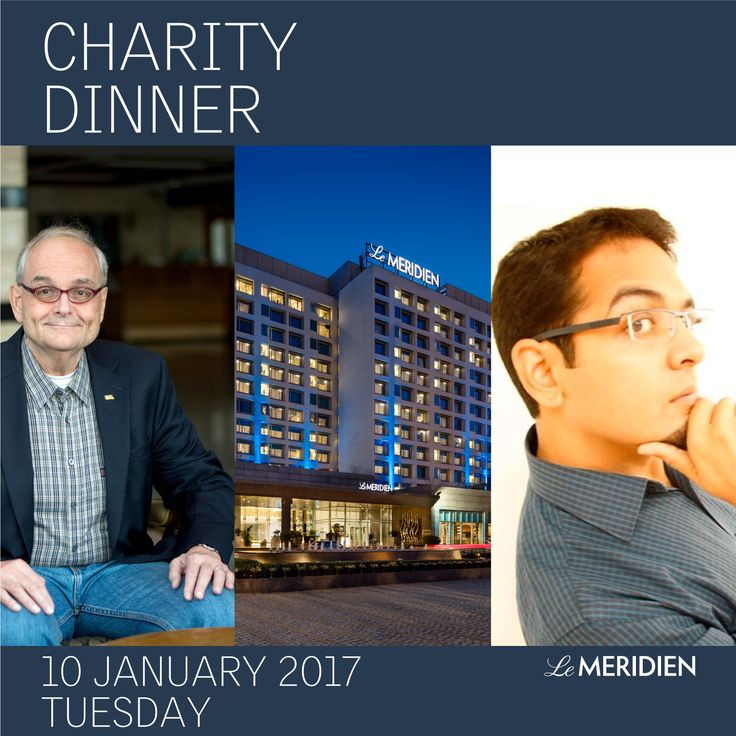 We are pleased to cordially invite you for an annual charity Cocktail & Dinner at Le Meridien Gurgaon. The Charity Dinner is brought to you in association with Fred Tibbits who helps destitute families from different parts of the world including India to live a better quality of life. Le Meridien Gurgaon will also present a special Stand-up comedy act by Raghav Mandava.  Prior Reservation is a must.  Time: 7 PM onwards Venue: Perseus Ballroom, Le Meridien Gurgaon Anadita: +91 8860609395