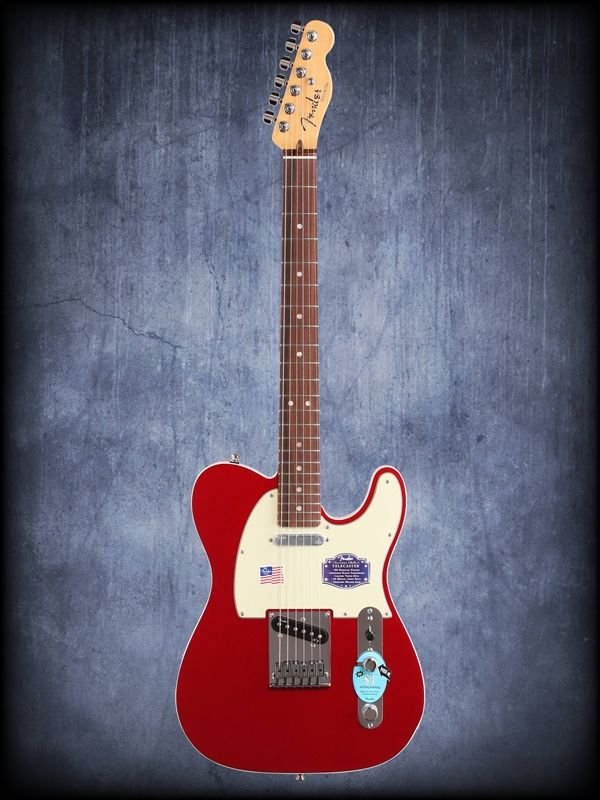 Fender American Deluxe Telecaster Rosewood Fingerboard with Case, $1,700