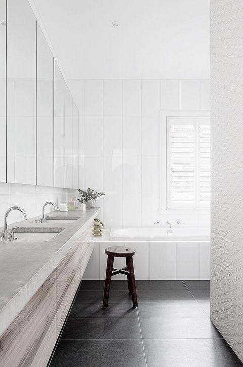 66 Serene Scandinavian Bathroom Designs | ComfyDwelling.com More