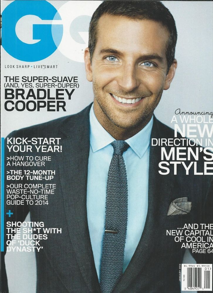 GQ magazine Bradley Cooper Duck Dynasty Thierry Henry Downtown Los Angeles