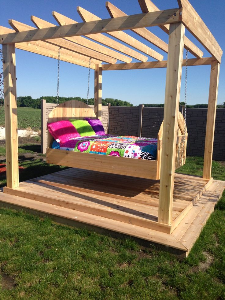 Outdoor Bed best 20+ outdoor swing beds ideas on pinterest | pergola ideas
