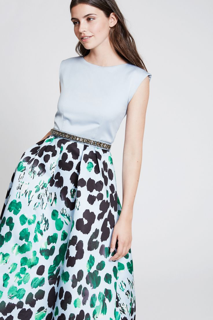 mix and match your perfect summer dress - wedding - summerparty - leo print - lovely colours