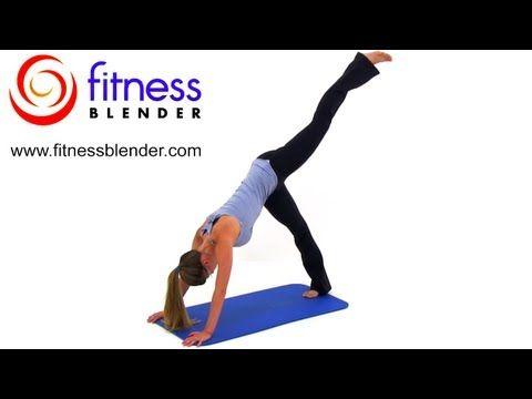40 Minute No Squat Leg Workout – Squat Free Butt & Thigh Workout, Fitness Blender
