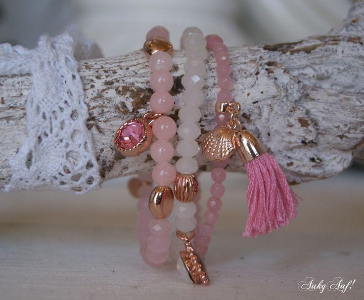 Biba armbanden roze...AukgAaf!