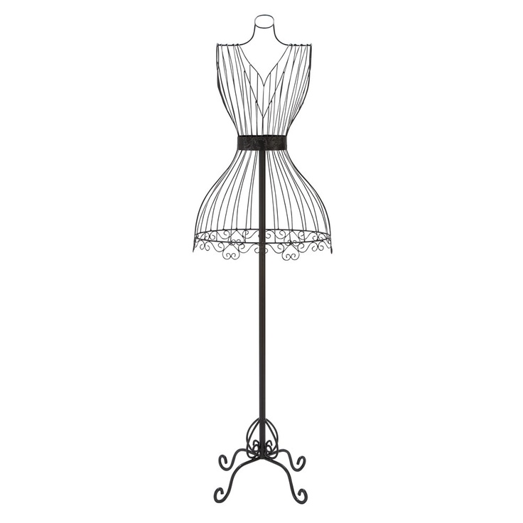 45 best Metal Wire Dress Forms images on Pinterest | Dress form ...