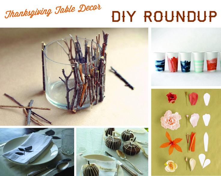 Thanksgiving DIY Roundup + Renegade Craft Fair by Margo