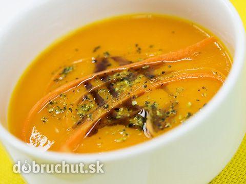 Hustá mrkvová polievka s hokkaido tekvicou - Tento recept môže byť aj základom pre teplý šalát krém, nátierku či polievku. Na tuku...