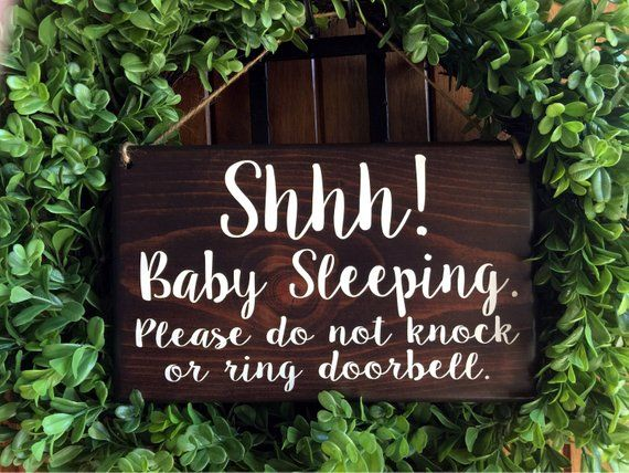 Shhh Its Naptime Baby Naptime Sign Baby Naptime Door Sign Naptime Sign for Baby Do Not Disturb Baby Sleeping Sign Do Not Disturb Sign Wood Sign Plaque Home Wall Art Decoration