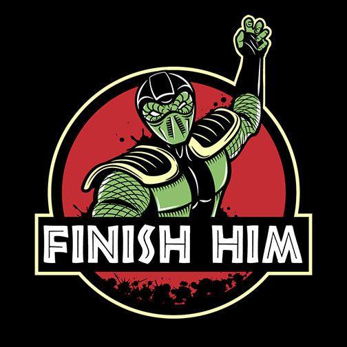 Finish Him T-Shirt $12.99 Mortal Kombat tee at Pop Up Tee!