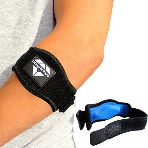 2-Pack Tennis Elbow Brace with Compression Pad by PlayActive Sports - Best Tennis & Golfer's Elbow Strap Band - Relieves Tendonitis and Forearm Pain - Includes Two Elbow Support Braces and E-Guide PlayActive http://www.amazon.com/dp/B015I2EC9O/ref=cm_sw_r_pi_dp_KbZ7wb117XD2K
