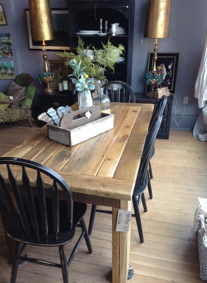 Handmade barn wood table at Gravy Home Goods, Jewell, IA - 18 Best Gravy Home Goods Images On Pinterest