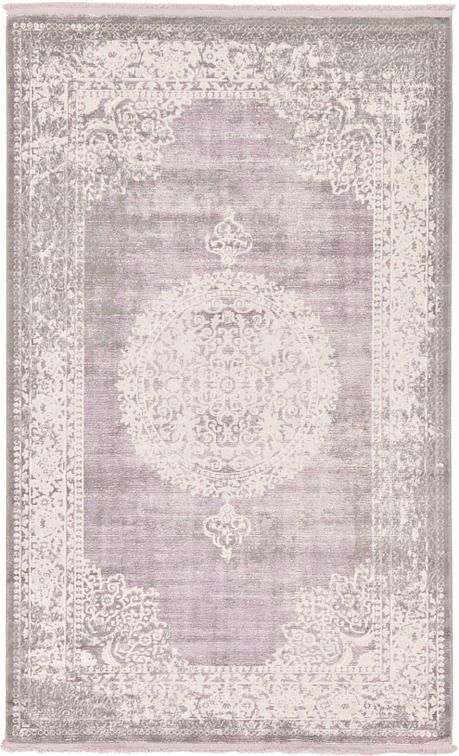 Purple New Vintage Area Rug