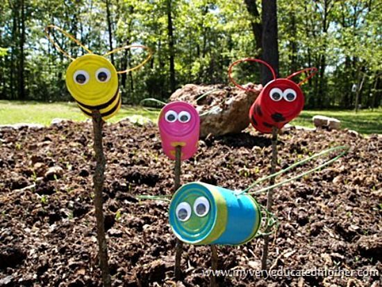 Tin can crafts- 10 great ideas!