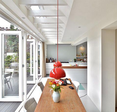 lichtstraat in plaats van balken: beloopbaar glas!