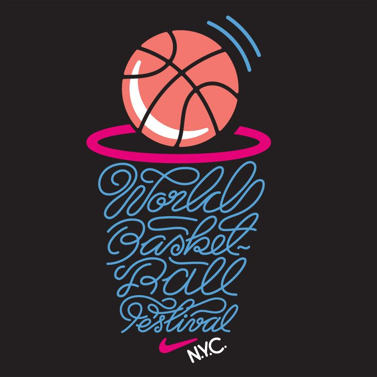 Nike Basketball Festival T-shirt designs for Nike. | Rami Niemi