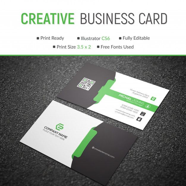 Creative Business Card Design Modern Business Cards Creative