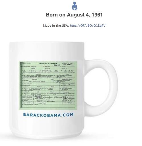 Hilarious: Obama Adds Birth Certificate To His Facebook Timeline