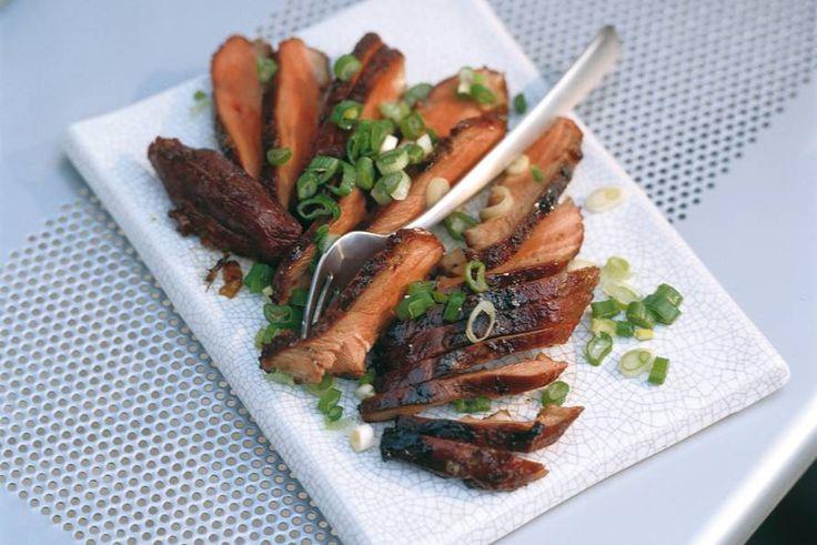 Kijk wat een lekker recept ik heb gevonden op Allerhande! Eendenborst met Chinese kruiden