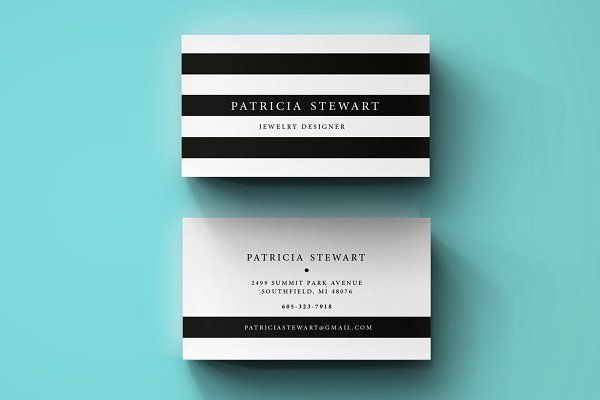 Premium Business Card template - Business Cards - 1