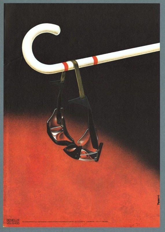 Affiches anciennes de sécurité au travail aux Pays Bas affiche securite pays bas 27 570x800