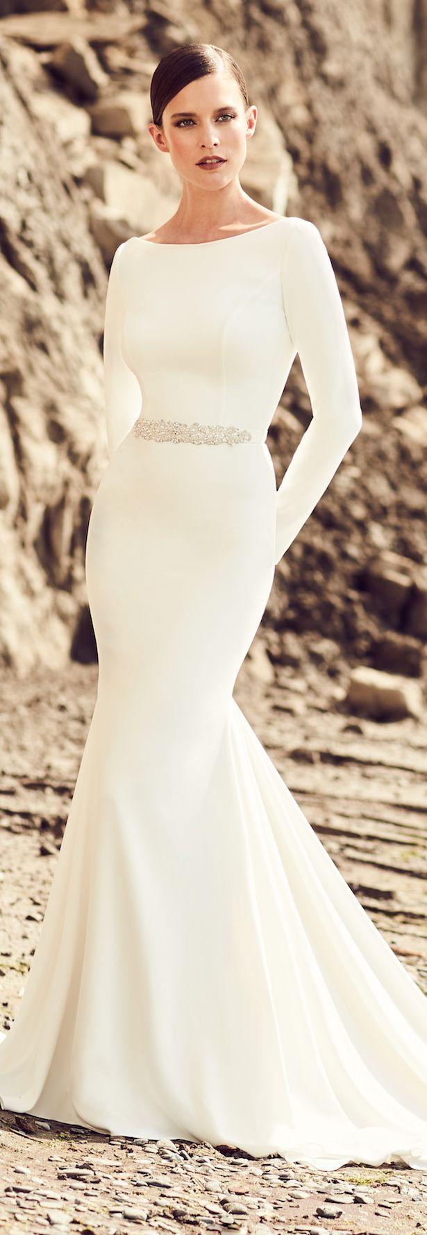 Long sleeve dresses to wear to a wedding   best Wedding Dresses images on Pinterest  Boho wedding dress