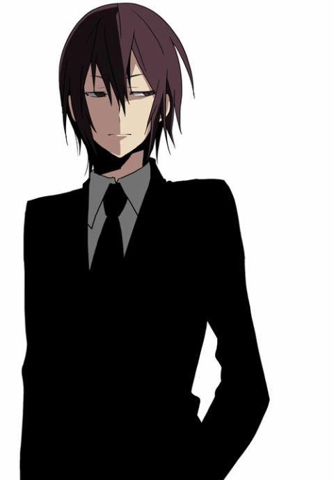 Anime Characters In Suits : Hanejima yuuhei kasuka heiwajima durarara pinterest