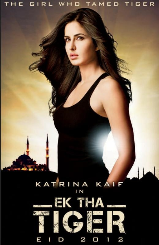 """Ek Tha Tiger"" New Movie Poster Featuring Katrina Kaif 